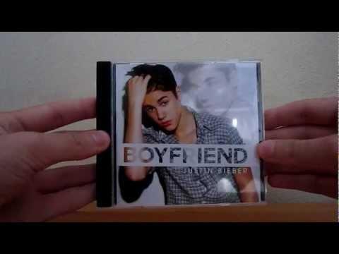 Justin Bieber - Boyfriend CD Unboxing HD