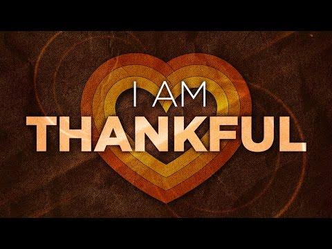 I Am Thankful - Tim Fox
