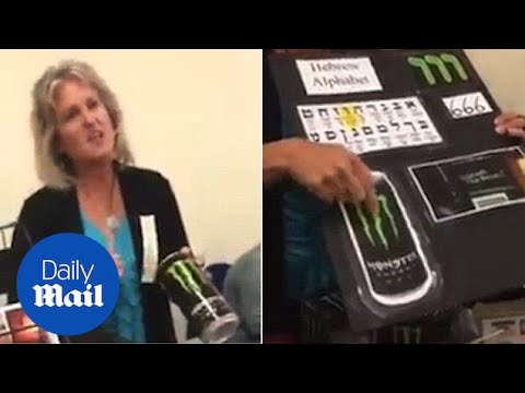 Woman says why she believes Monster Energy drinks are from Satan - Daily Mail