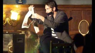 comedy trumpet the boy with tape on his face tapeface