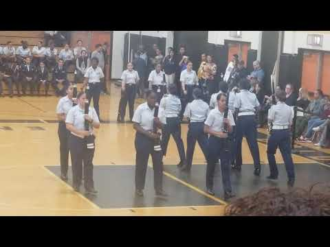 Springfield Central High School R.O.T.C. (Brandi Flames) Performance at Central High School