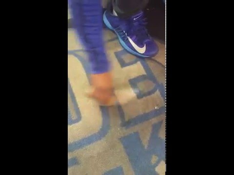 How to clean  my carpet with shoe mgk
