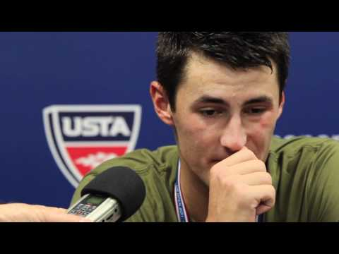 Bernard Tomic Second Round Loss: US Open 2011 Day 4