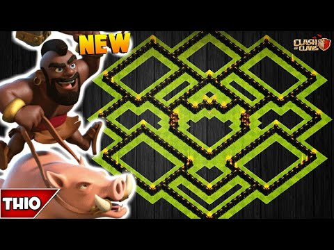 NEW TOWN HALL 10 TROPHY/FARMING BASE 2019! TH10 HYBRID BASE WITH REPLAYS!! - CLASH OF CLANS(COC)
