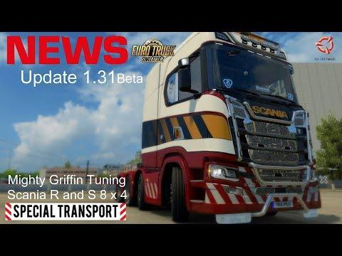 ETS2 I NEWS ► Update 1.31 ist da I  Mighty Griffin Tuning New Scania [Deutsch/HD]
