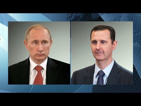 Ситуацию в Сирии Владимир Путин обсудил по телефону с президентом страны Башаром Асадом.