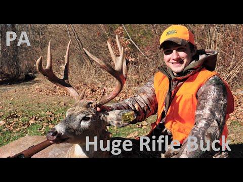 BIG BUCK KILL!!- OPENING DAY Pennsylvania RIFLE Season 2019