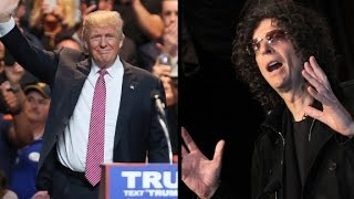 Howard Stern's impact on the 2016 election