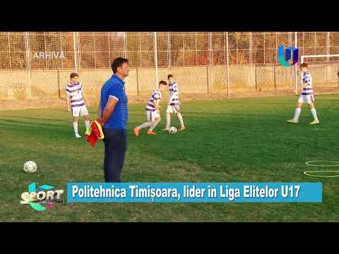 Politehnica Timișoara, lider în Liga Elitelor U17