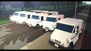 MAIL TRUCK RAID! | Greenville, WI | Roblox