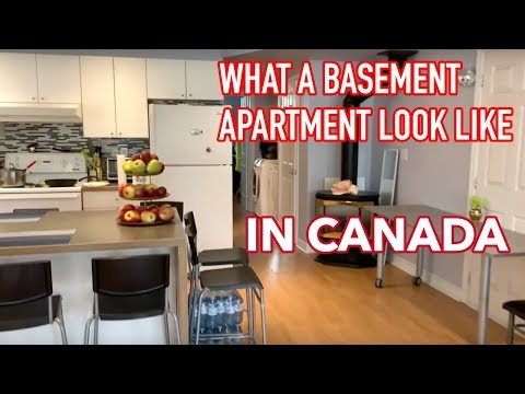 Living In Canada | What Basement Apartment Looks Like In Toronto