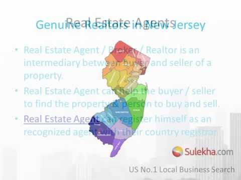 Realtors in NJ - Real Estate Agents in New Jersey Area