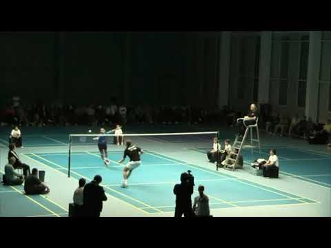 Backhand War! Lee Chong Wei Vs Jonassen Stunning Rallies And Deception
