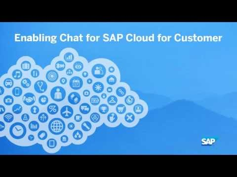 Enabling Chat For SAP Cloud For Customer