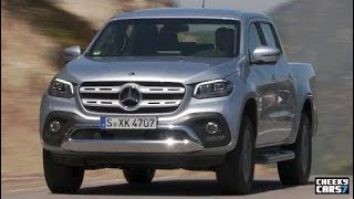 NEW Mercedes-Benz X-Class TEST Drive (Chile) offroad 2017