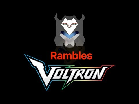 SoundJack's Rambles #5: Voltron: Legendary Defender