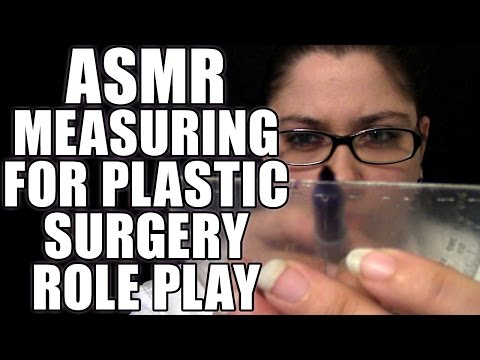 ASMR Face Measurement Role Play, Soft Spoken Plastic Surgery Prep RP, Personal Attention Roleplay
