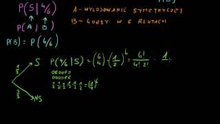 Prawdopodobieństwo warunkowe  i wzór Bayesa