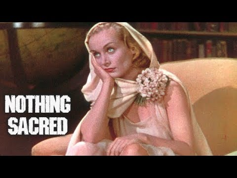 NOTHING SACRED // Full Comedy Movie // Carole Lombard & Fredric March // English // HD // 720p
