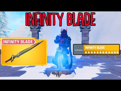 So spielt man das neue INFINITY BLADE in Fortnite! thumbnail
