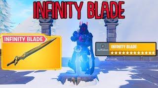 So spielt man das neue INFINITY BLADE in Fortnite!