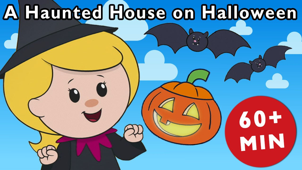 a haunted house on halloween night and more | nursery rhymes from