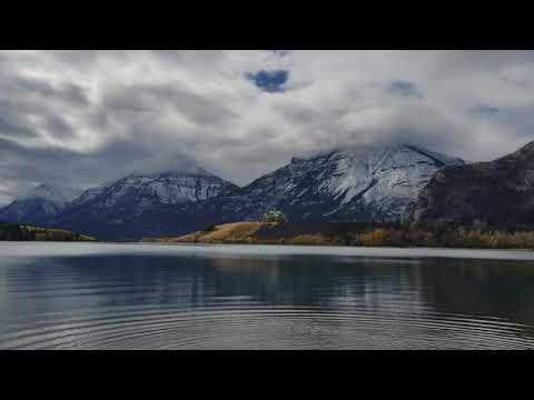 Waterton afrer the fire October 8 2017