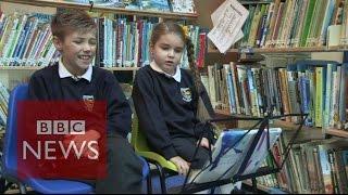 Back to the Future: British kids react to '2015' - BBC News