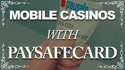 Mobile Casinos With Paysafecard Top Sites (2018)