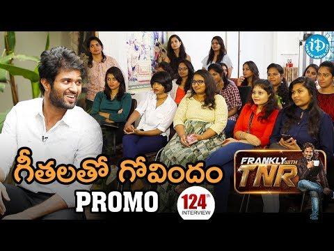 Actor Vijay Devarakonda Exclusive Interview - Promo || గీతలతో గోవిందం || Frankly With TNR #124