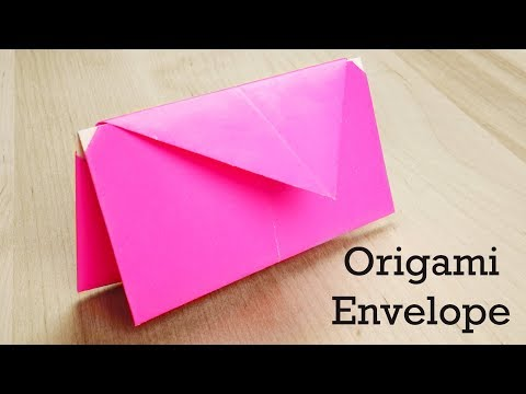 Origami Tutorial: Double Envelope | Very easy origami for gift