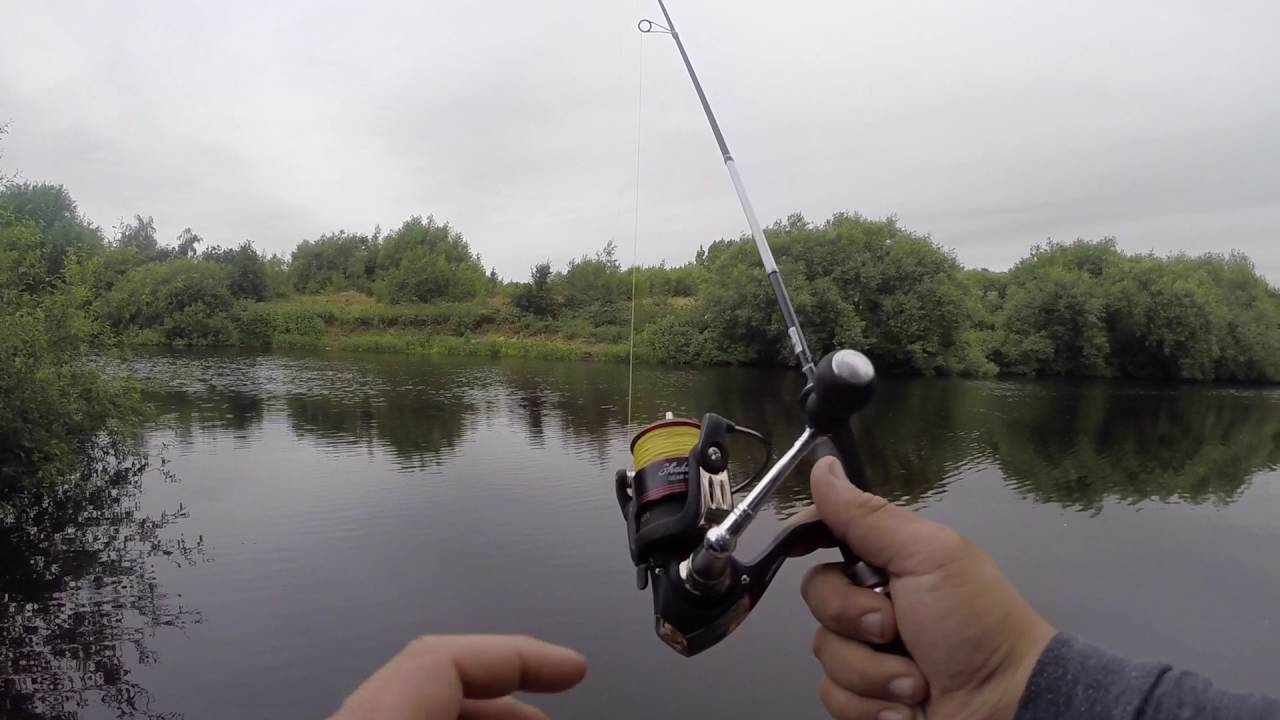 My current ultra light lure fishing rod set up youtube for Fishing rod setup