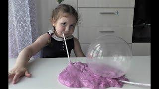 пузыри из Флаффи Слайм Пузырь из лизуна Lizunov, fluffy slaym