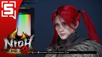 [Stirppin]  Nioh 2 : Gmart trains me in the way of the weeb part1