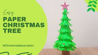 Paper Christmas Tree - How to make DIY X-Mas Tree
