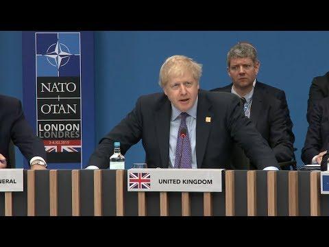 Nato summit: Boris