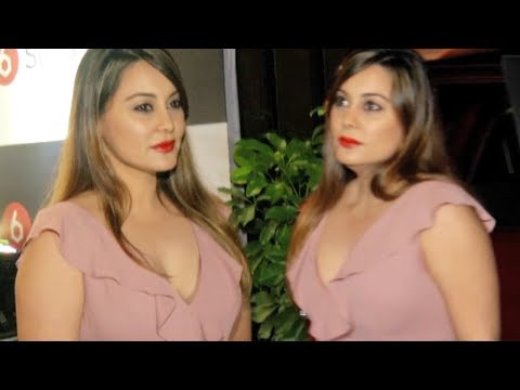 Tv Actress Hot Cleavage Show At Launch Of SIQS Entertainment thumbnail