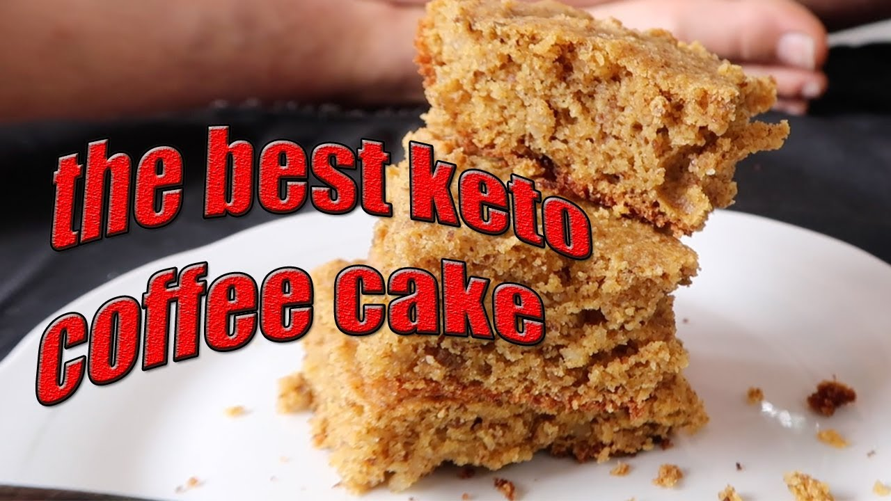 Very Low Sugar Cake Recipes: The BEST KETO COFFEE CAKE Recipe