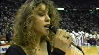 Mariah Carey-America The Beautiful(Live NBA Finals 1990)High Quality