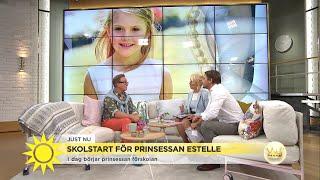 Prinsessan Estelle början i skolan – se hennes första promenad in till klassen- Nyhetsmorgon (TV4) thumbnail