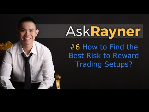 How to find the best risk to reward trading setups?