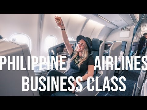 Philippine Airlines NEW A330 Business Class/Manila to Seoul