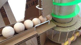 Mini Rube Goldberg marble machine
