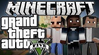 GTA 5 - Пасхалки Мифы и Секреты -  Minecraft Шахта !!!