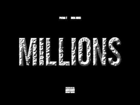 Millions - Pusha T Ft Rick Ross (new 2013) HQ