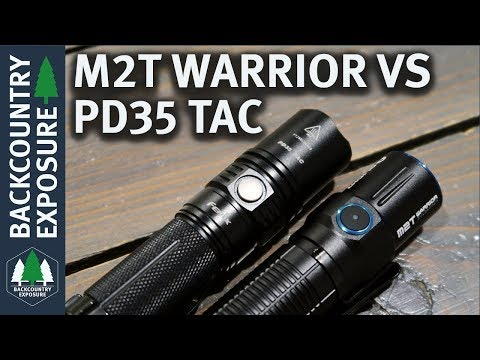Olight M2T Warrior Vs Fenix PD35 Tac | What's The Better Light?