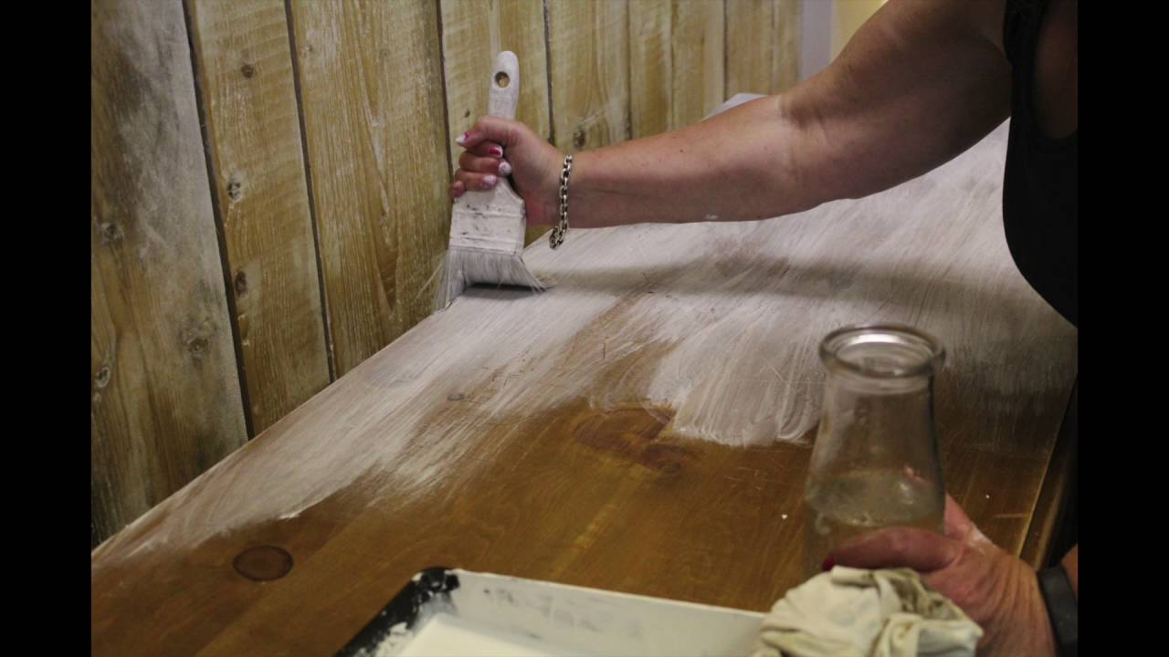 How To Limewash A Pine Dresser By Cribb Amp Hammer Youtube