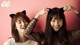 11月22日発売のCanCam1月号のCMに楓(E-girls)と中条あやみが出演!WEB...