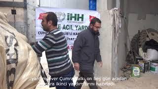 Çumra Halkı Suriyeli Kardeşlerine Yardıma Devam Ediyor