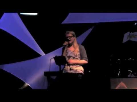 Karaoke Night At Fine Arts | Titanium - David Guetta ft. Sia (Eliza Eckert)